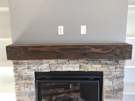 Floating Fireplace Mantels by Solid Wood Floating Fireplace Mantel Rustic Reclaimed Floating Fireplace Fireplace Mantel And