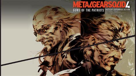 metal gear solid 4 metal gear solid 4 guns of the patriots wallpaper 1024117