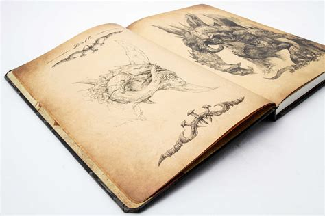 sketch book hardback diablo iii hardcover blank sketchbook book by