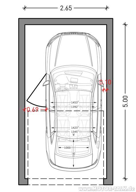 breite garage a3 limo garage 265 cm garagenbreite f 252 r a3 limousine