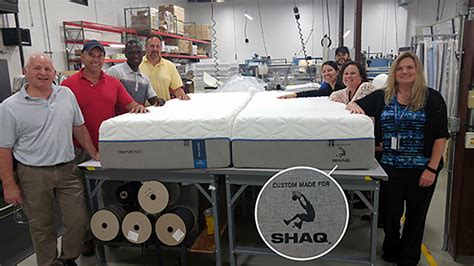 shaquille o neal bed tempur pedic made shaq a shaq sized mattress slamonline