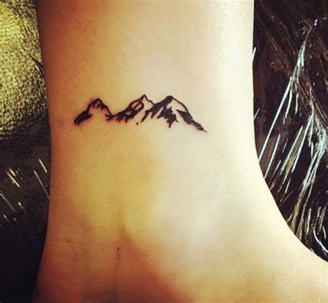 cute small tattoos for girls simple mountain tattoos www imgkid the image kid