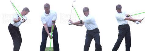 perfect release golf club swing plane trainer aid perfect release golf swing trainer at practicerange com