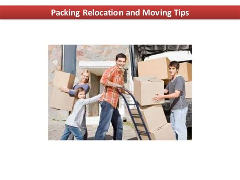 packing and moving tips packing relocation and moving tips