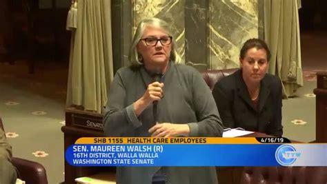 wash state senator slammed   nurses sit