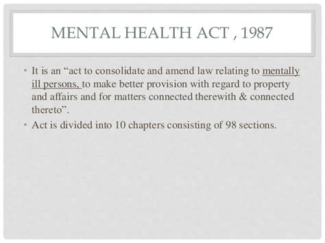 Mental Health Act Section 36 by Mental Health Act
