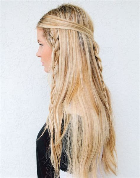 hippie hairstyles for long hair go retro with 10 modern 60s inspired hairstyles brit co