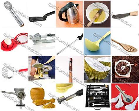 100 pics kitchen utensils level 21 40 answers 4 pics 1