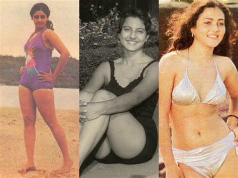mandakini heroine ki photos vintage bollywood bikini divas old bollywood actresses in