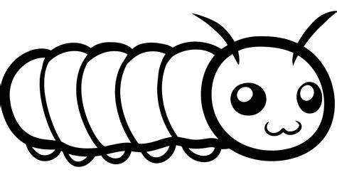 imagenes para colorear oruga dibujos de oruga para colorear gratis