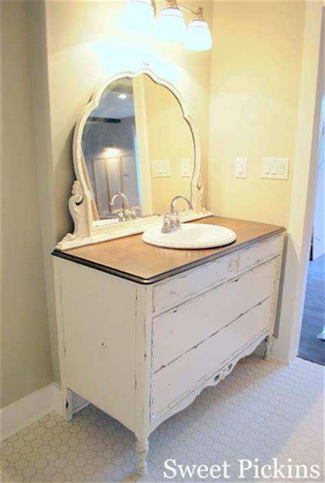 old dresser turned into bathroom vanity antique dresser turned bathroom vanity and bathroom
