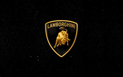 Wallpaper Lamborghini Logo 4k Automotive Cars 6475