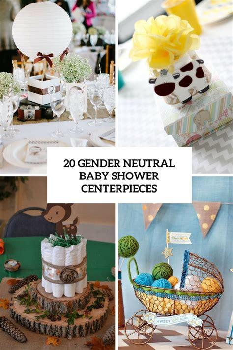 gender neutral baby shower centerpieces shelterness