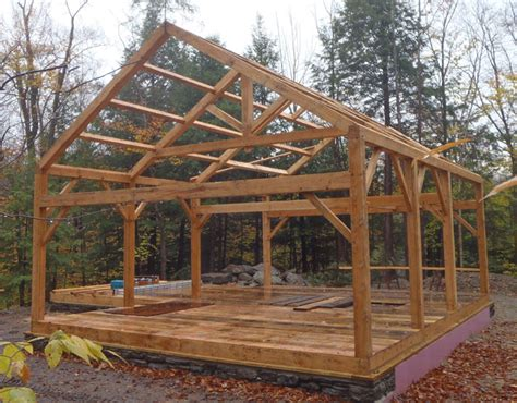 monitor timber frame barn plans free studio design