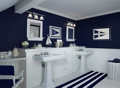 nautical bathroom ideas easy tips to help you decorating navy blue bathroom home decor help