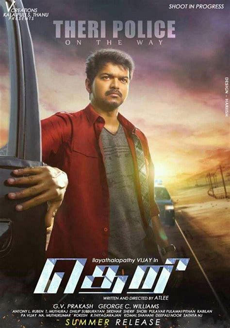 theri tamil movie first look downloadonline torrent movie lovable images theri movie first look posters free