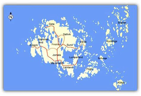 aland islands map aland islands map and aland islands satellite images