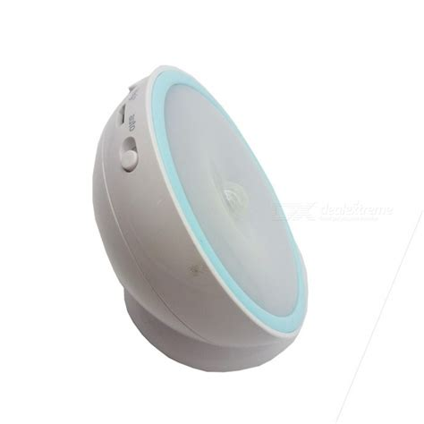 electromagnetic induction led 360 degree rotating auto induction magnetic led light with base free shipping dealextreme