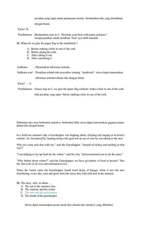 membuat outline bahasa inggris contoh soal un bahasa inggris smp paket 3