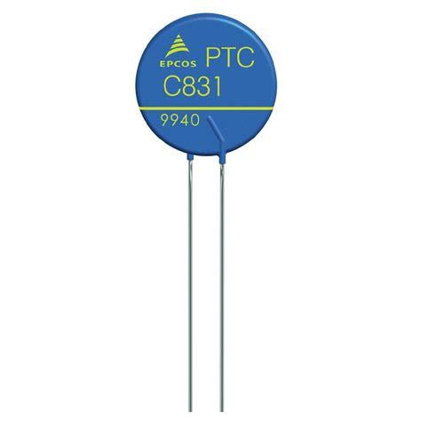 ptc thermistor protection ptc thermistor 1 2 ω epcos b59965 from conrad
