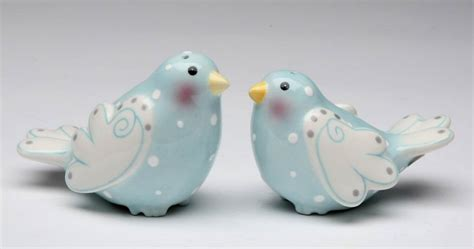 ceramic salt and pepper shakers me dove birds ceramic salt and pepper shakers by
