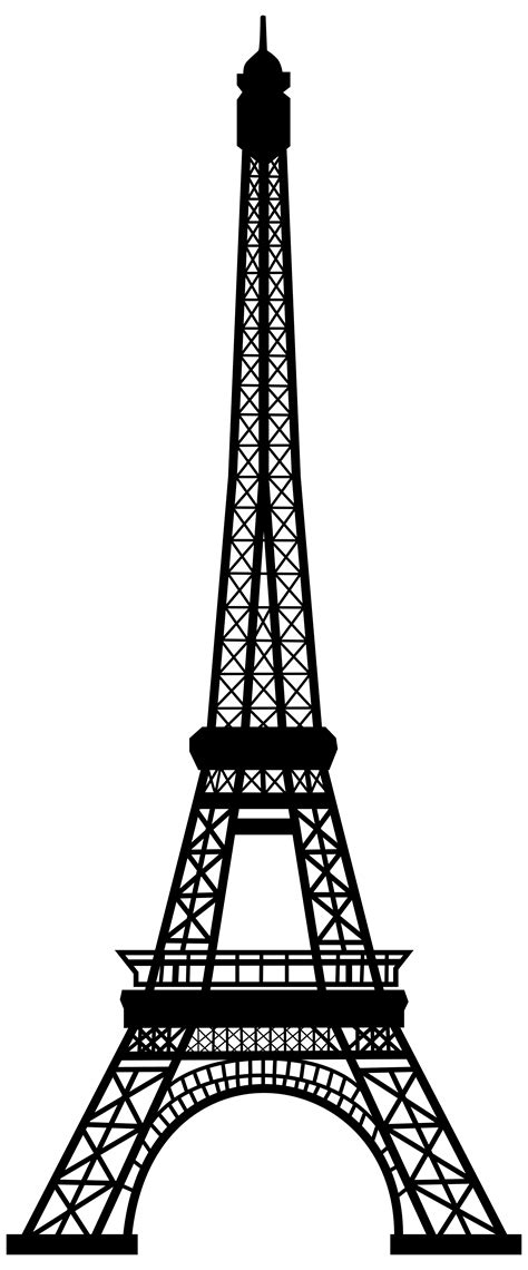 eiffel tower clipart pin by oceanic blues on silhouette cakes