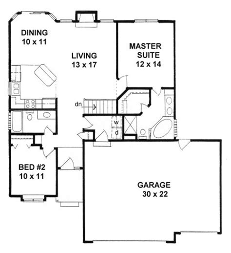 home floor plans 3 car garage plan 1112 ranch style small narrow lot house plan w 3