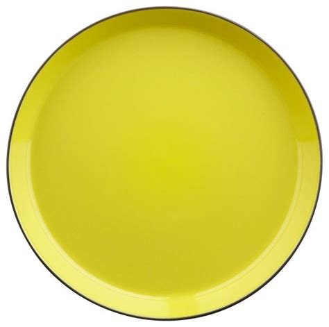 Square Outdoor Rugs Grass Roots Dinner Plate Modern Dinner Plates By Cb2
