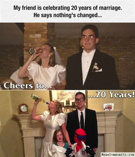 After 20 years of marriage a couple