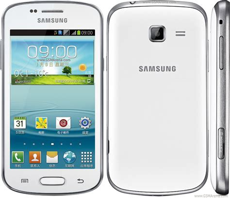 Samsung Duos 2 Samsung Galaxy Trend Ii Duos S7572 Pictures Official Photos