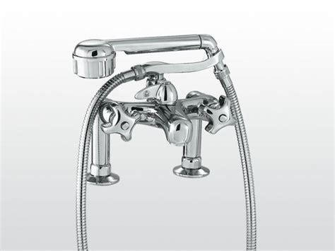 robinet pour baignoire 2 trous avec douchette emisfero