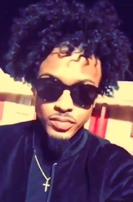 Hair Like August Alsina | singer august alsina shows off new hair look cute or nah