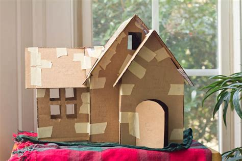 How To Make A Model House Out Of Paper - the of a gingerbread house part 1 mommie cooks