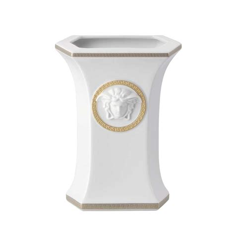vaso versace versace vaso gorgona 23 cm versace presentesrodriguez