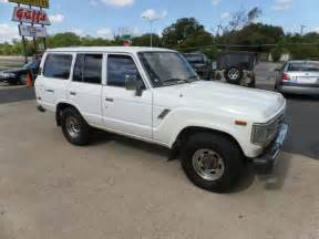 Toyota Land Cruiser For Sale Photos 1988 Toyota Land Cruiser 4wd For Sale 4x4 Cars