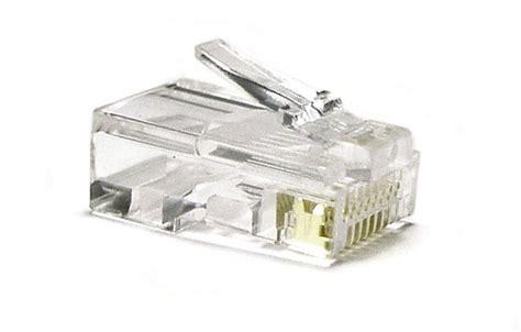 Konektor Rg 45 cara crimping kabel utp ke rj 45 dan cross