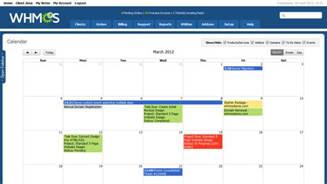 Version 5 1 Release Preview Whmcs Blog Launch Calendar Template