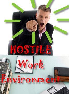the hostile work environment how hostile is hostile