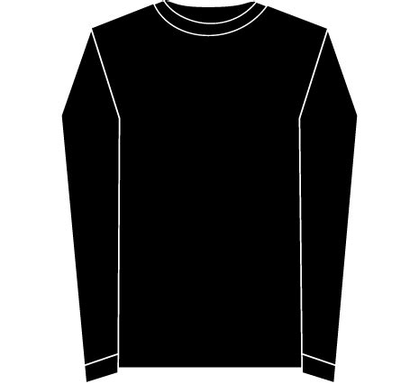 12 long sleeve blank t shirt template psd images long