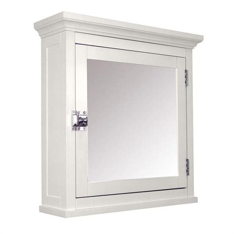 1 door medicine cabinet in white 7039