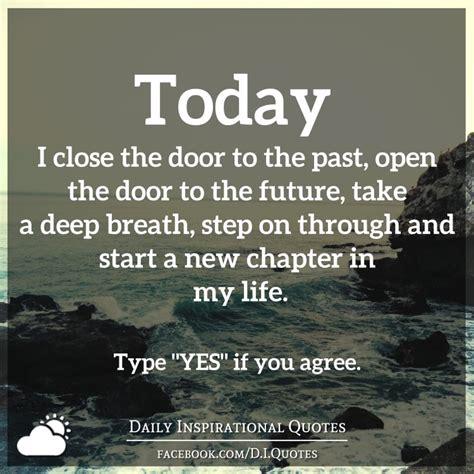 today i the door to the past open the door to the