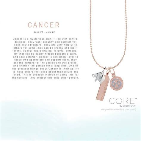 Origami Owl Order - origami owl collection zodiac cancer order yours