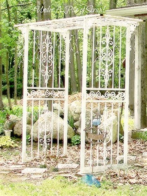 Garden Arbor With Door 11 Gorgeous Garden Arbors Made From Doors Page 3 Of