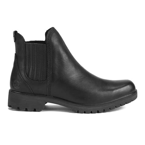 timberland s lyonsdale leather chelsea boots black