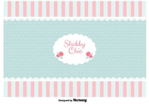 shabby chic style background vector free download