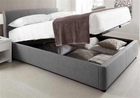 Upholstered Ottoman Storage Bed 1000 Ideas About Upholstered Bed Frame On Divan Beds Upholstered Beds And Bed Frames