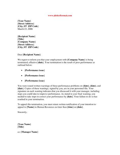 poor performance letter templates positive impression