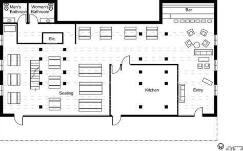 floor plan for a restaurant interior restaurant floor plan with bar with fascinating