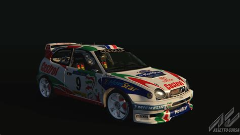 toyota rally car wrc toyota corolla toyota car detail assetto corsa