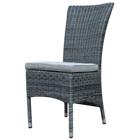 Dining Chairs Canberra Canberra High Back Outdoor Dining Chair Grey Plumindustries